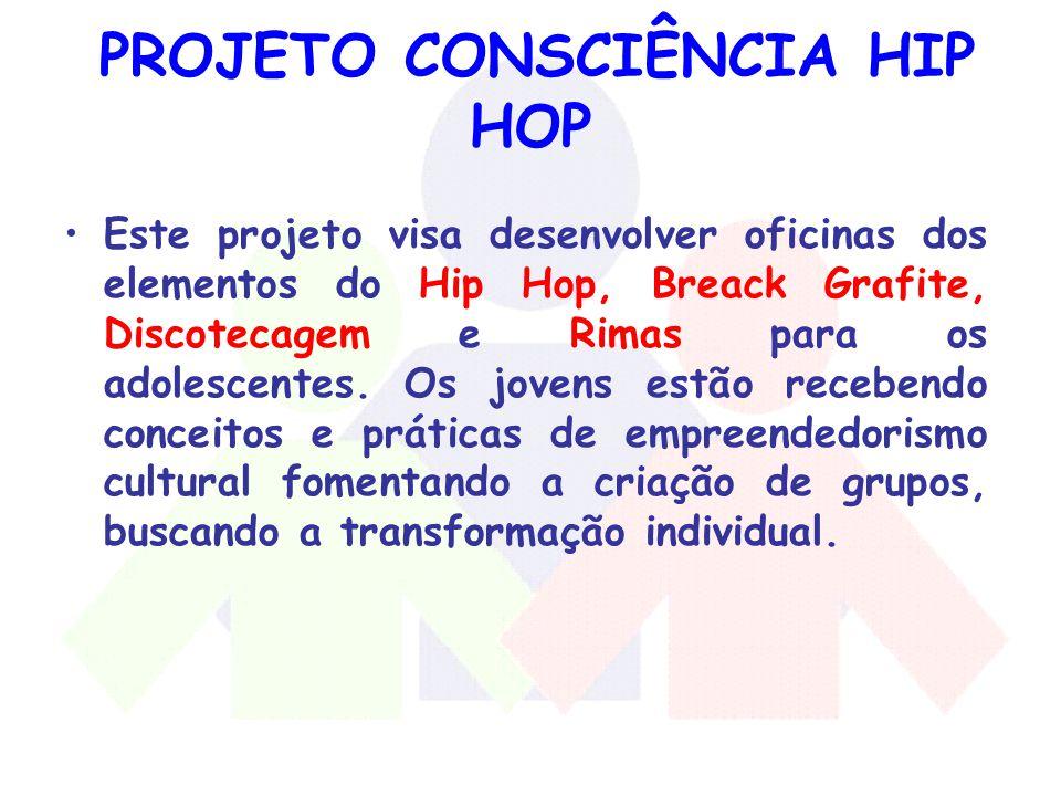 PROJETO CONSCIÊNCIA HIP HOP