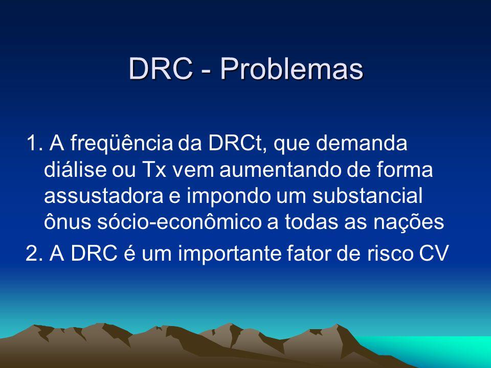 DRC - Problemas