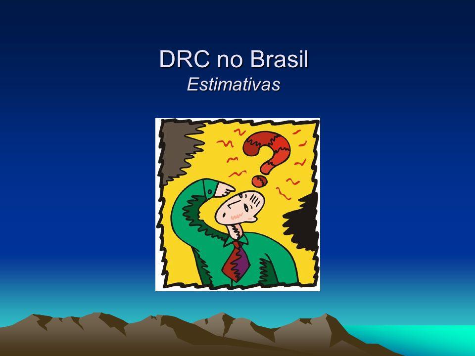 DRC no Brasil Estimativas