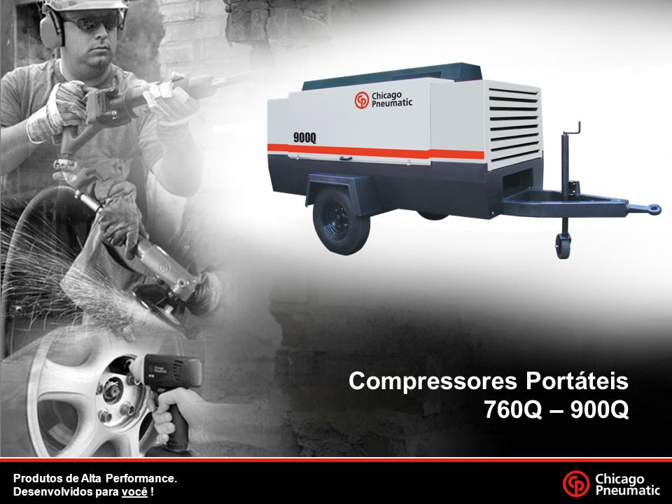 Compressores Portáteis 760Q – 900Q