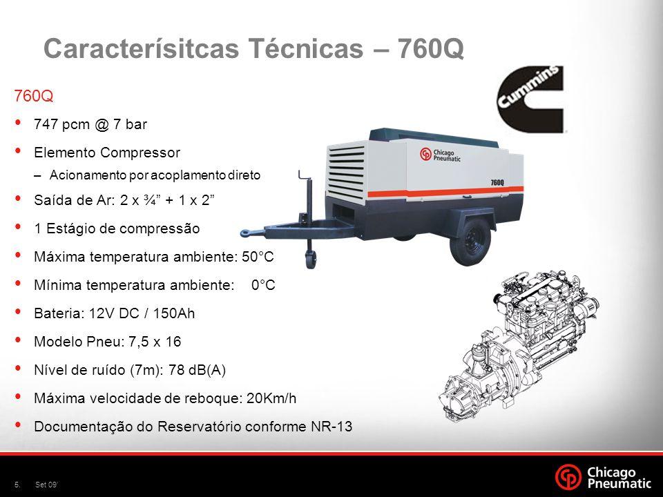 Caracterísitcas Técnicas – 760Q