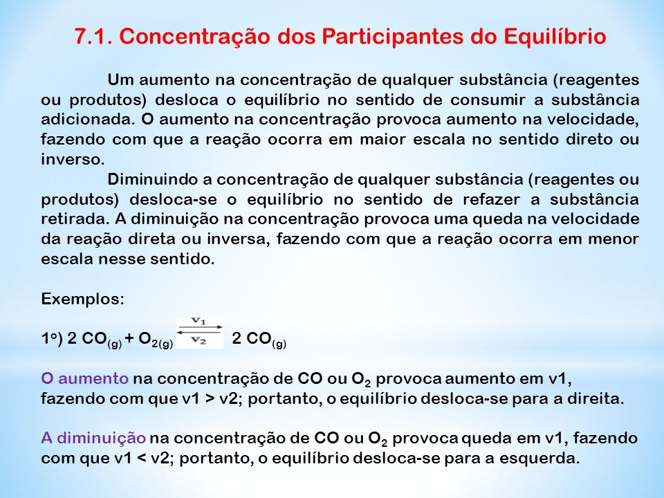 7.1. Concentração dos Participantes do Equilíbrio