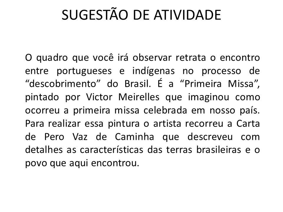 SUGESTÃO DE ATIVIDADE