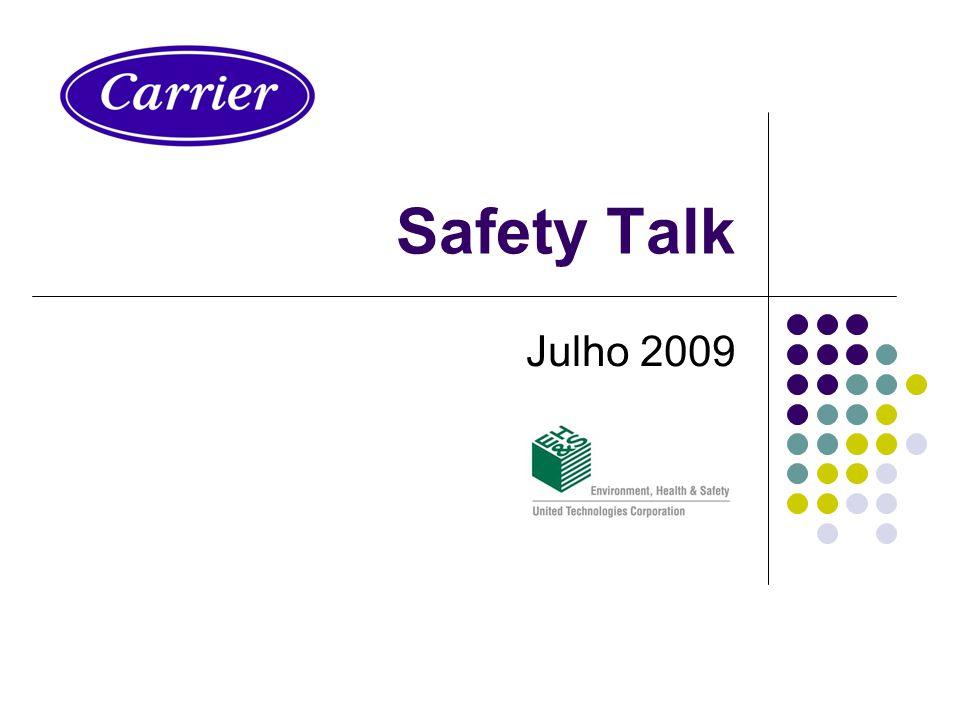 Safety Talk Julho 2009