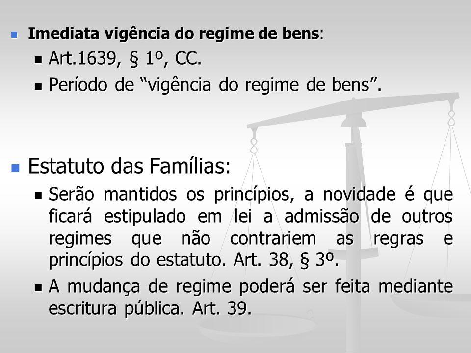 Estatuto das Famílias: