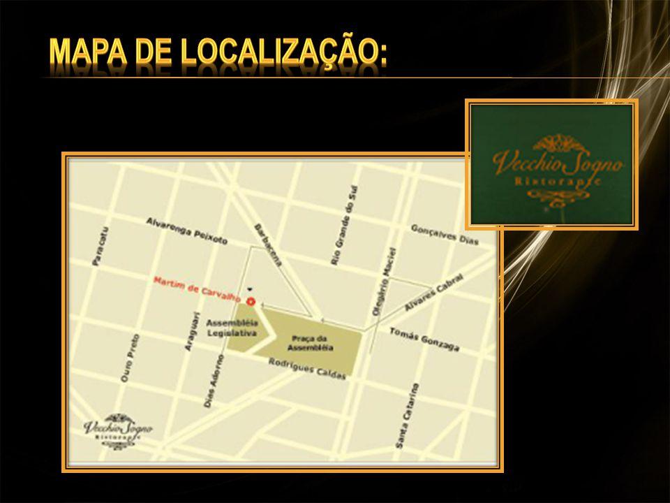 Mapa de Localização: Mapa de Localização:
