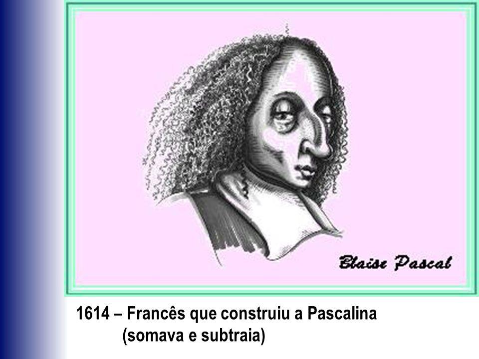 1614 – Francês que construiu a Pascalina
