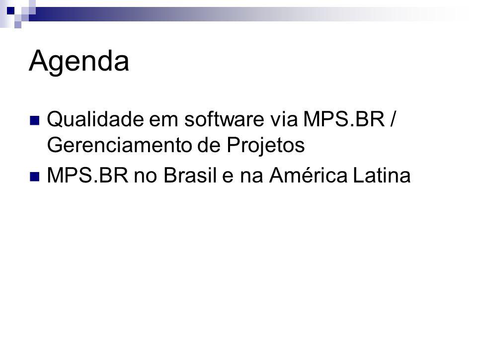 Agenda Qualidade em software via MPS.BR / Gerenciamento de Projetos