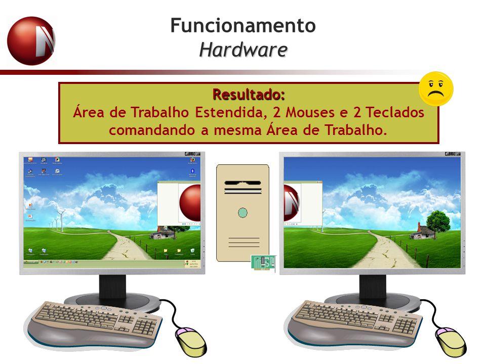 Funcionamento Hardware Resultado: