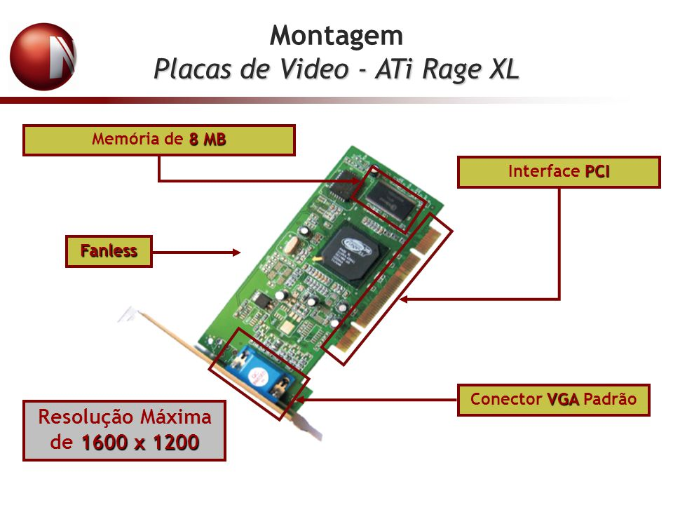 Placas de Video - ATi Rage XL