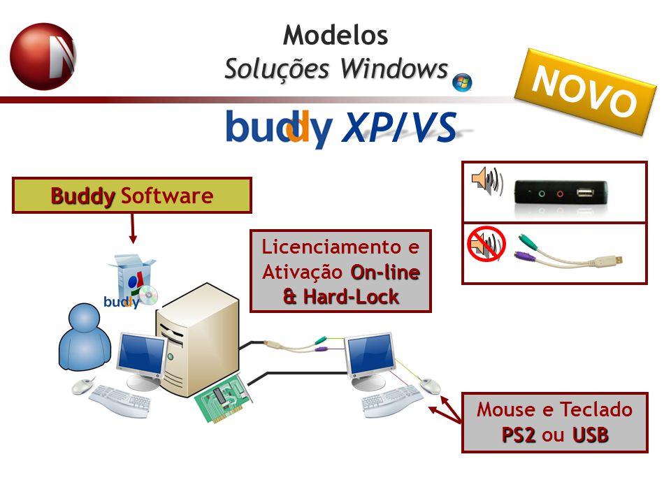 XP/VS NOVO Modelos Soluções Windows Buddy Software