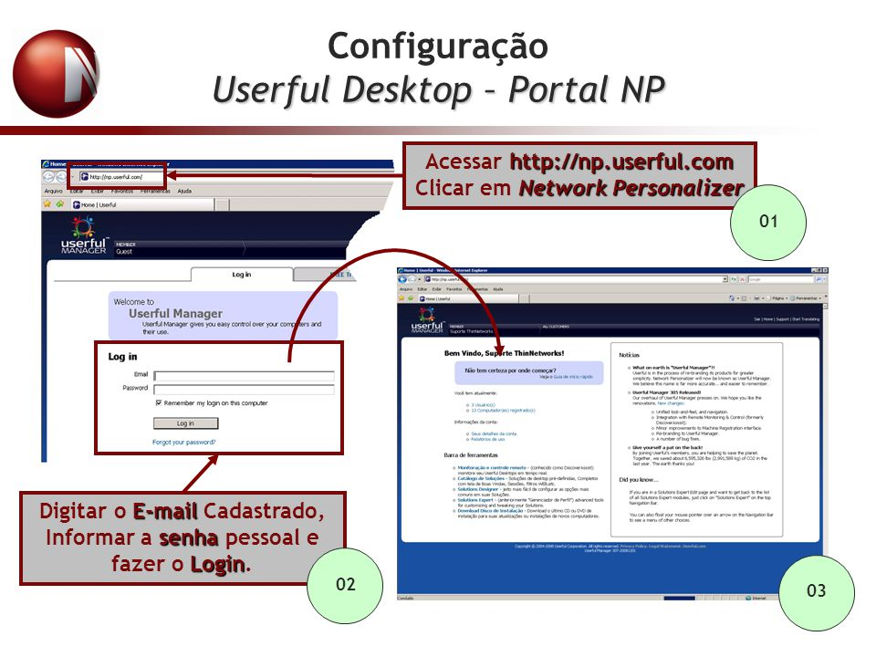 Userful Desktop – Portal NP