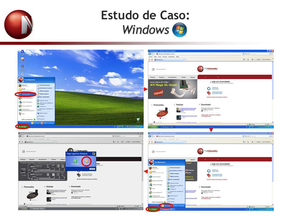 Estudo de Caso: Windows