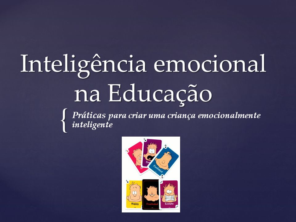Inteligência emocional na Educação