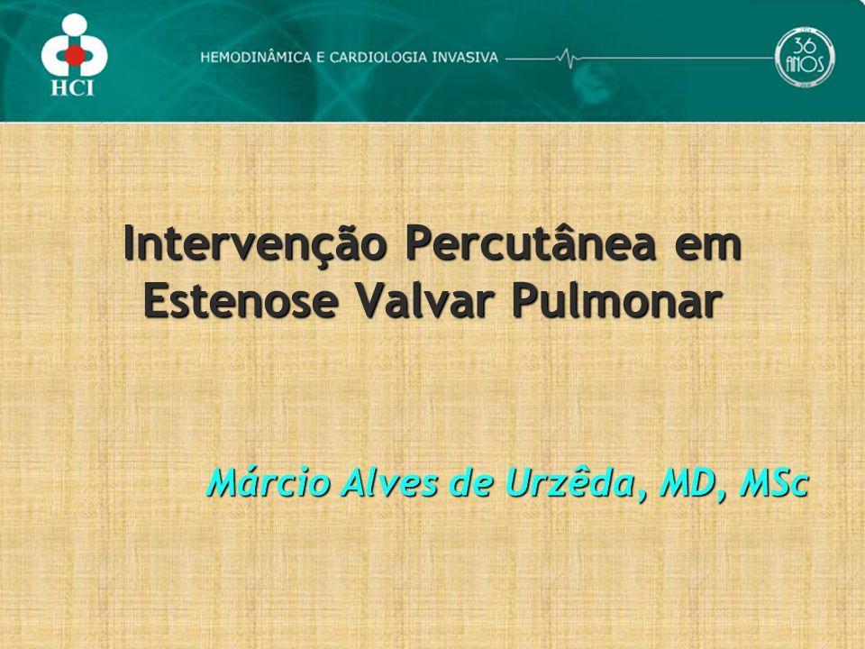 Intervenção Percutânea em Estenose Valvar Pulmonar