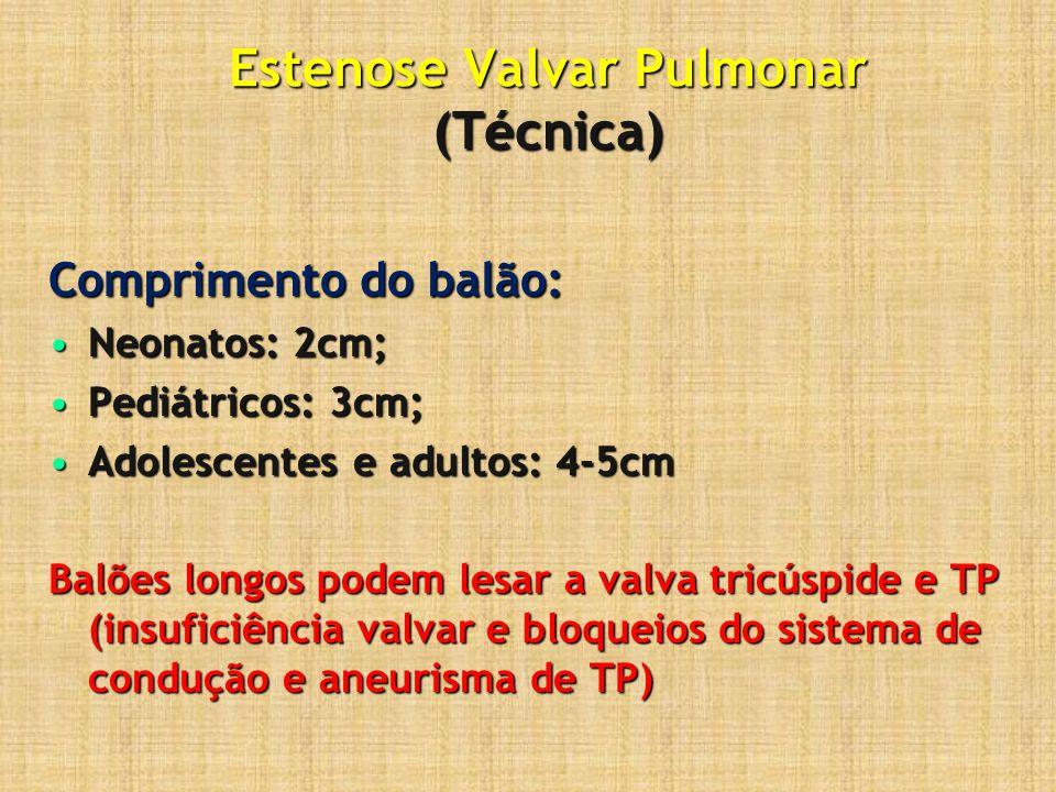 Estenose Valvar Pulmonar (Técnica)