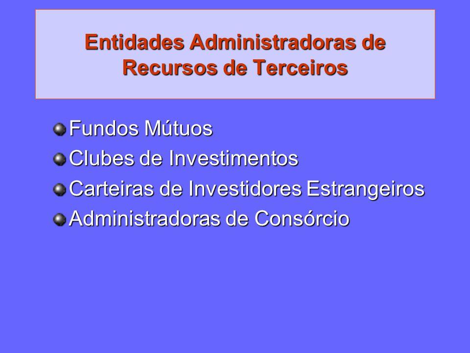 Entidades Administradoras de Recursos de Terceiros
