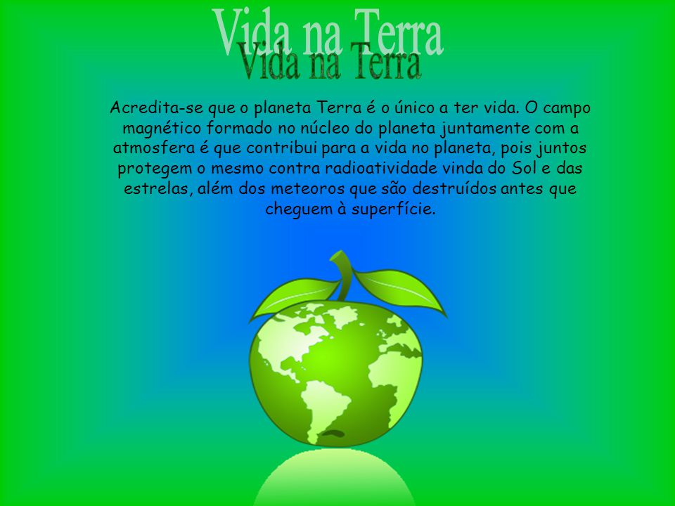 Vida na Terra