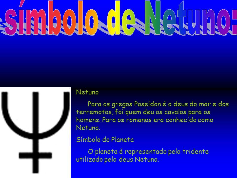 símbolo de Netuno: Netuno