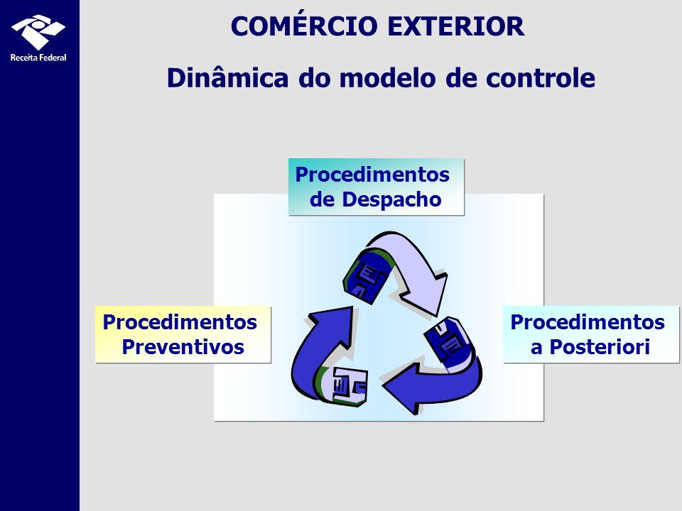 Dinâmica do modelo de controle