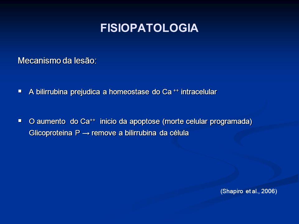 FISIOPATOLOGIA Mecanismo da lesão: