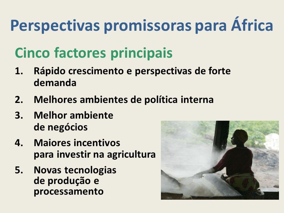 Perspectivas promissoras para África