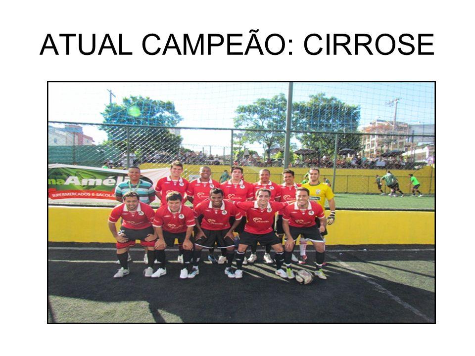 ATUAL CAMPEÃO: CIRROSE