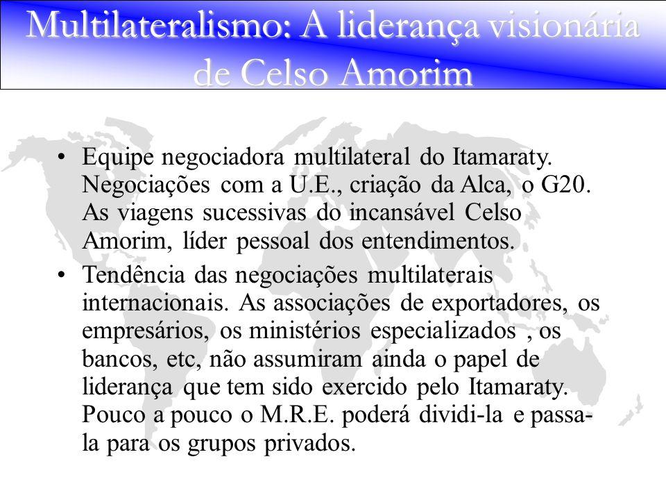 Multilateralismo: A liderança visionária de Celso Amorim