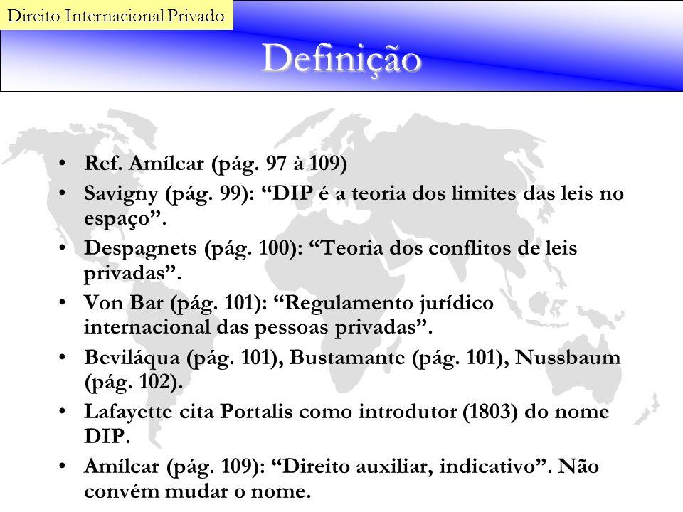Definição Ref. Amílcar (pág. 97 à 109)