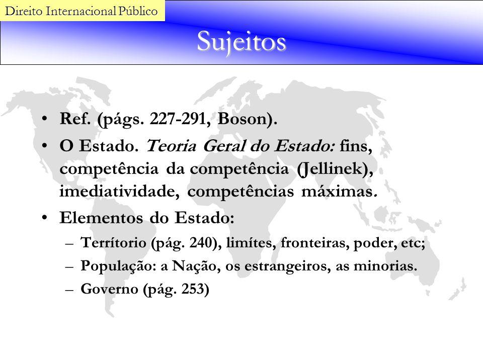 Sujeitos Ref. (págs. 227-291, Boson).