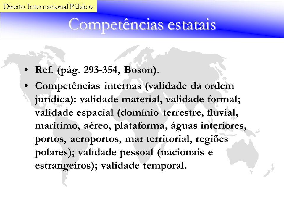 Competências estatais