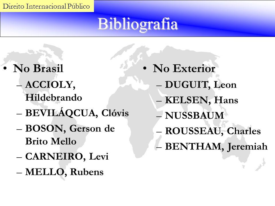 Bibliografia No Brasil No Exterior ACCIOLY, Hildebrando