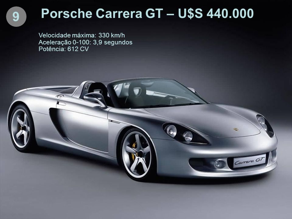 Porsche Carrera GT – U$S 440.000