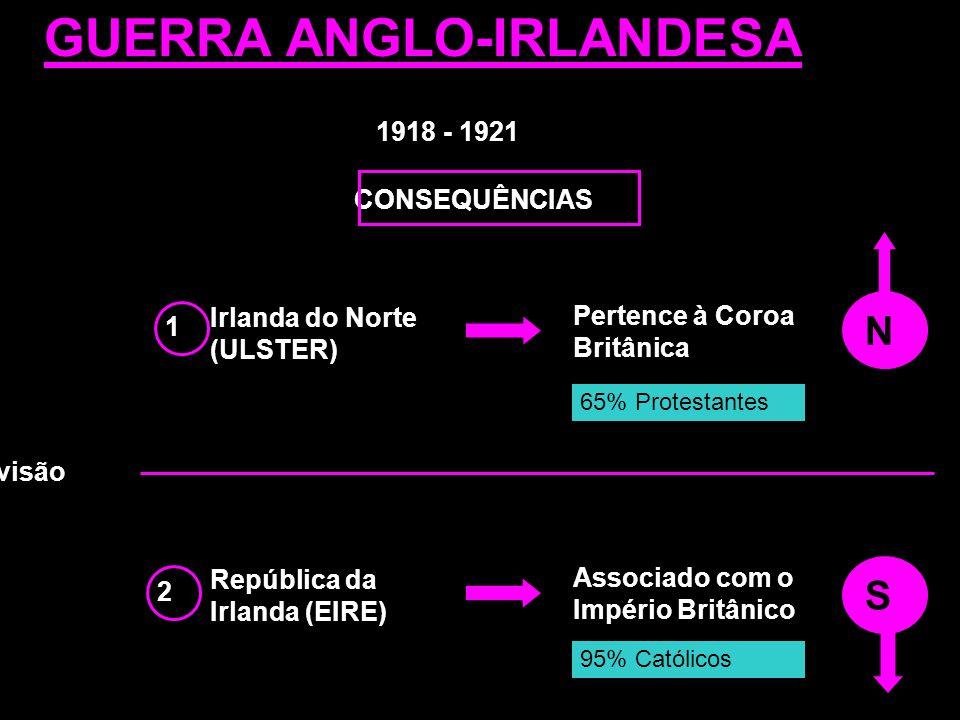 GUERRA ANGLO-IRLANDESA