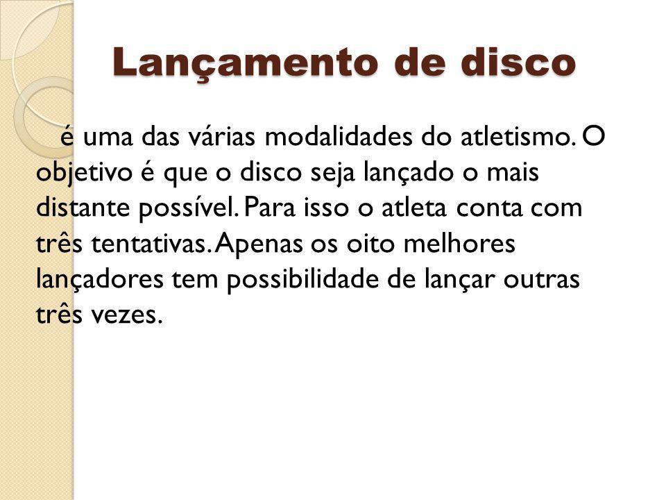 Lançamento de disco