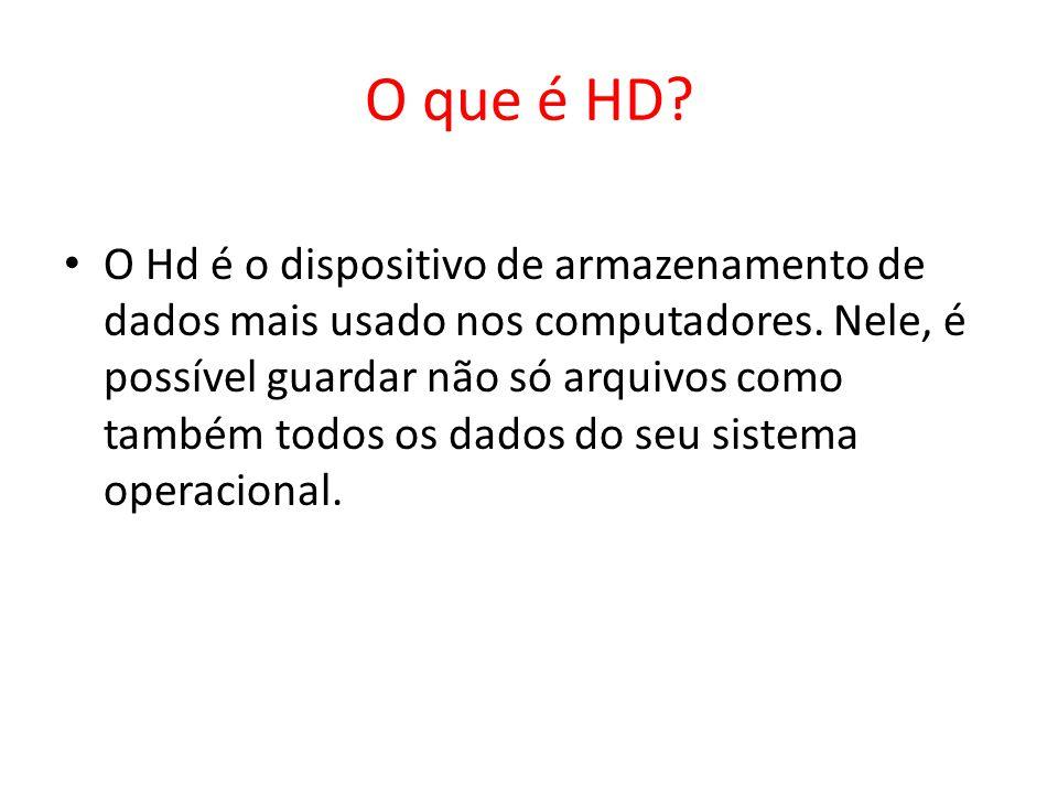 O que é HD
