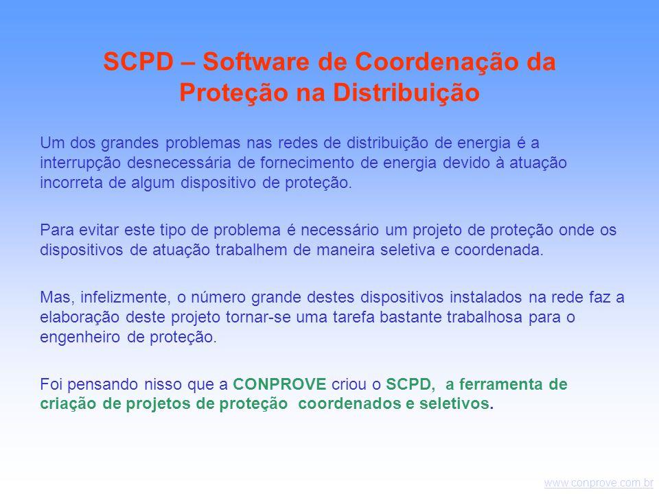 SCPD – Software de Coordenação da Proteção na Distribuição