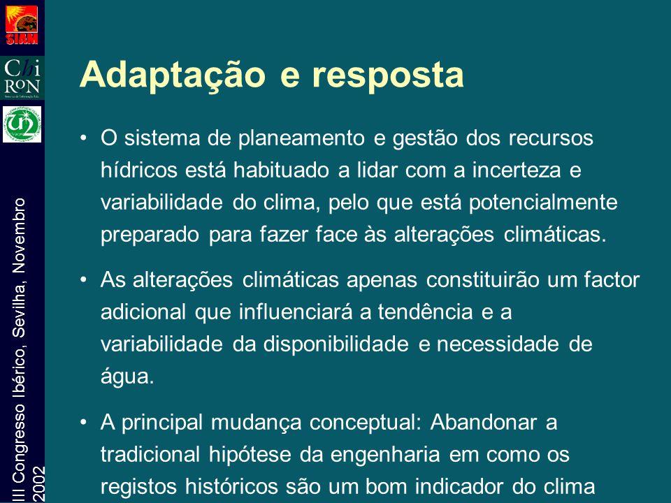 Adaptação e resposta