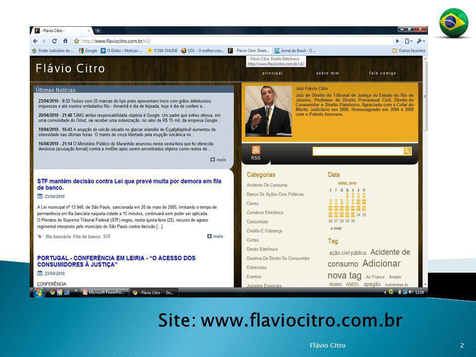 Site: www.flaviocitro.com.br