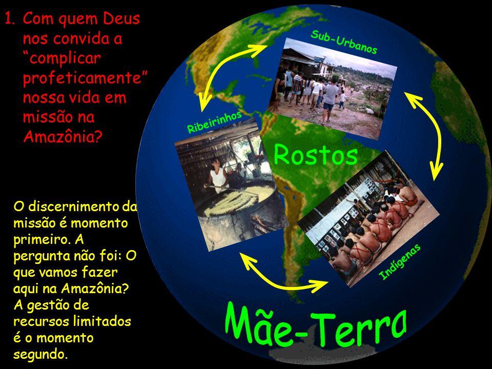 Com quem Deus nos convida a complicar profeticamente nossa vida em missão na Amazônia