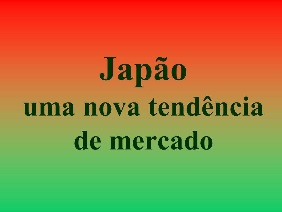 Japão uma nova tendência de mercado