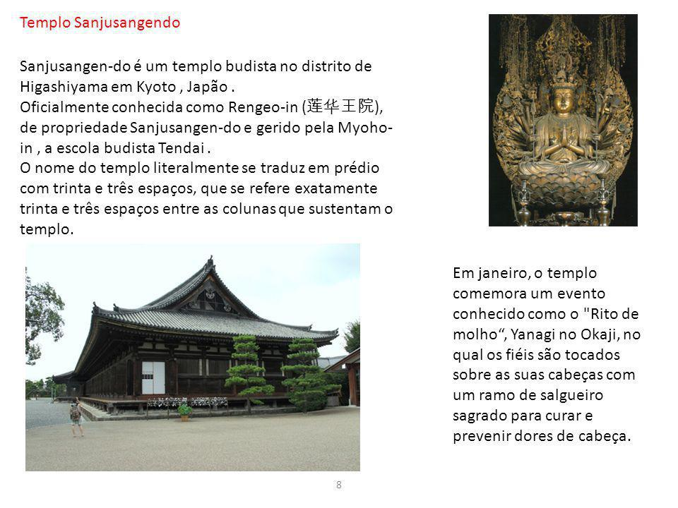 Templo Sanjusangendo Sanjusangen-do é um templo budista no distrito de Higashiyama em Kyoto , Japão .