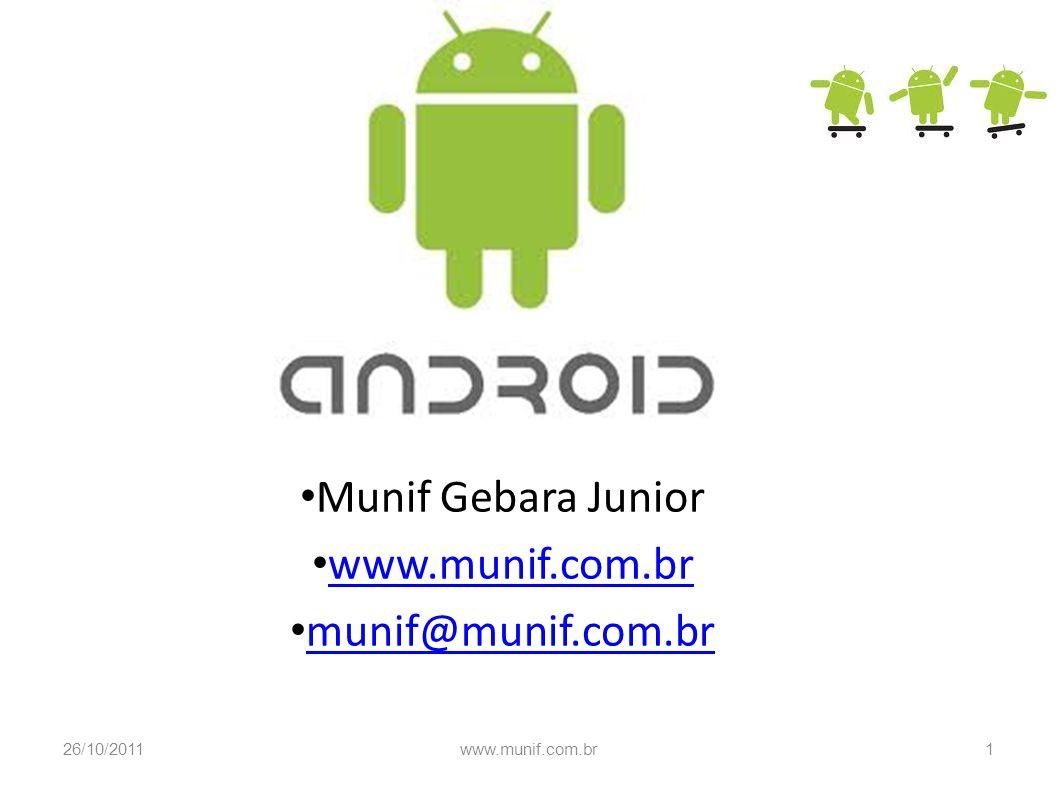 Munif Gebara Junior www.munif.com.br munif@munif.com.br
