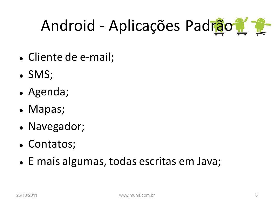 Android - Aplicações Padrão