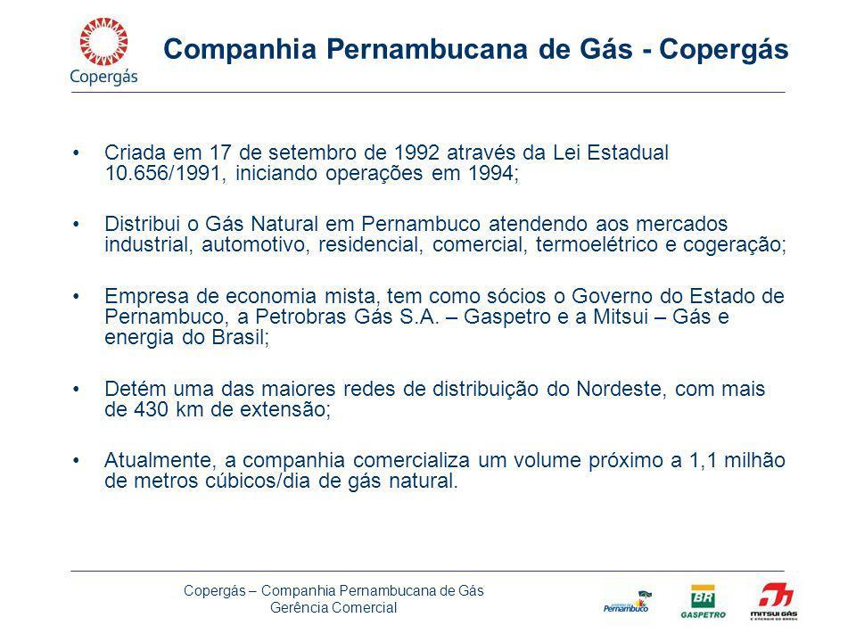 Companhia Pernambucana de Gás - Copergás