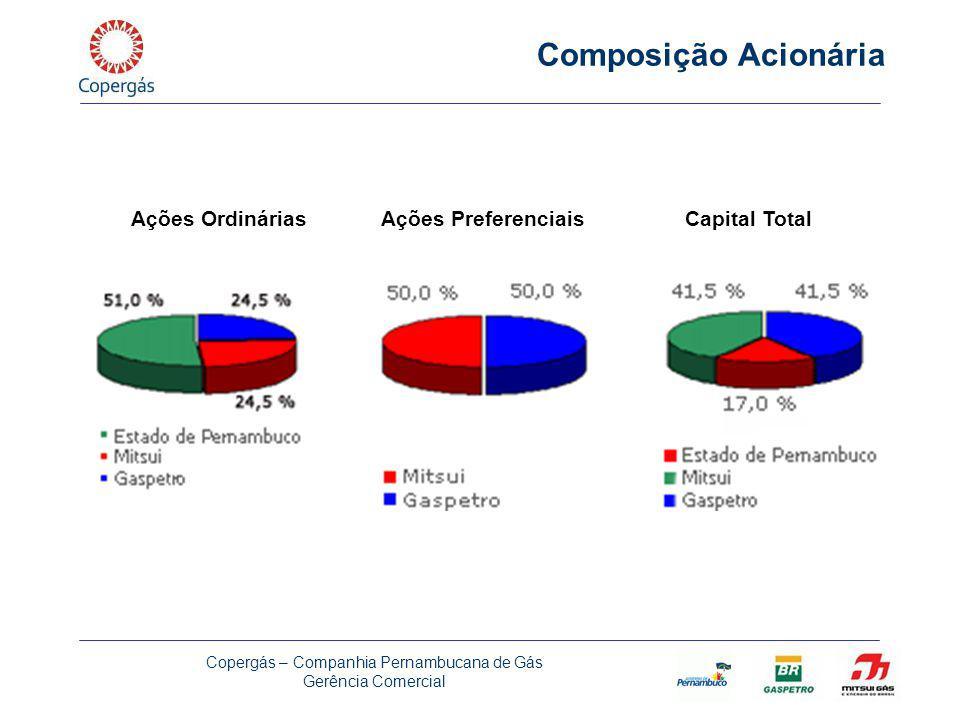 Composição Acionária Ações Ordinárias Ações Preferenciais