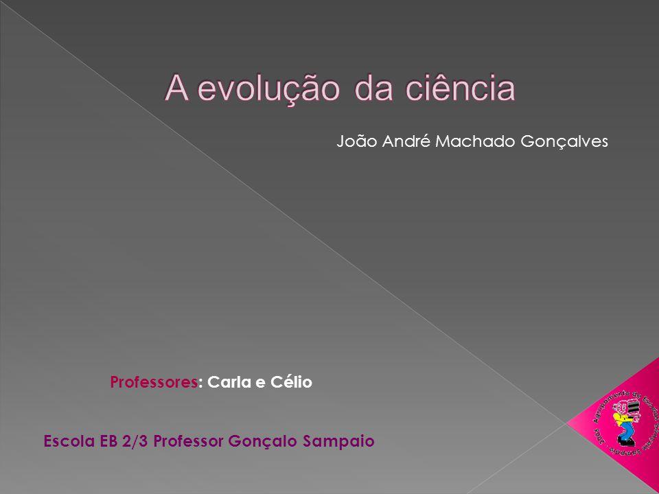Professores: Carla e Célio Escola EB 2/3 Professor Gonçalo Sampaio