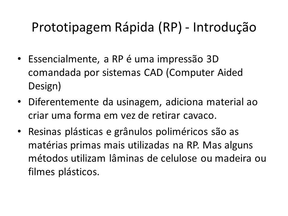 Prototipagem Rápida (RP) - Introdução