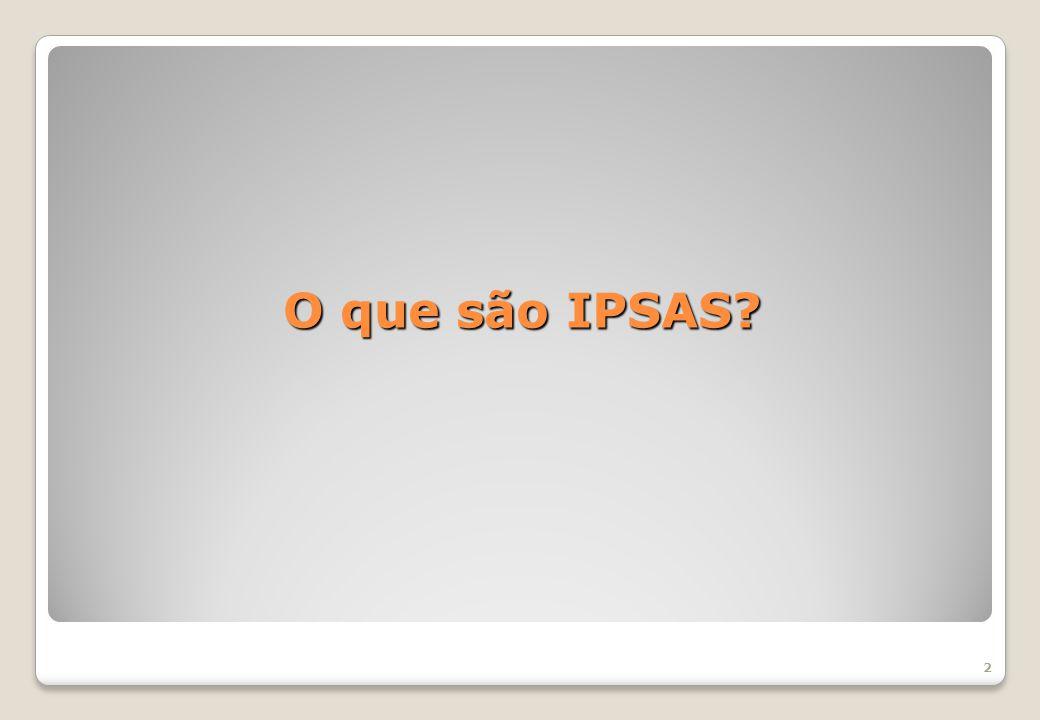 O que são IPSAS