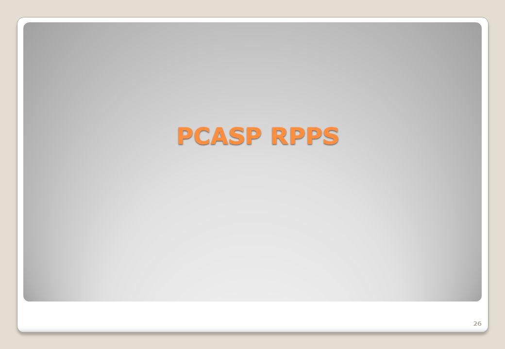 PCASP RPPS